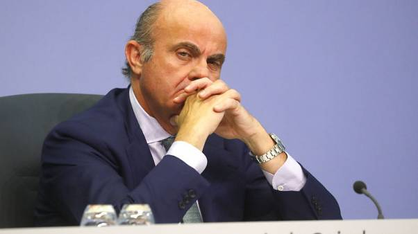 Britain biggest loser in disorderly Brexit - ECB's de Guindos