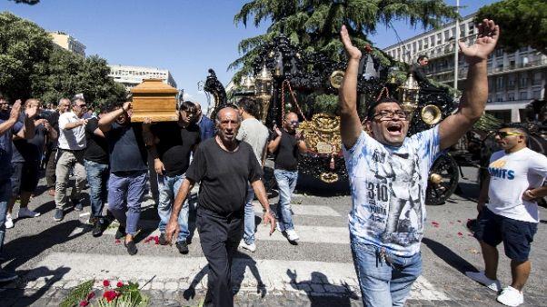 Interdittiva funerale-show Casamonica