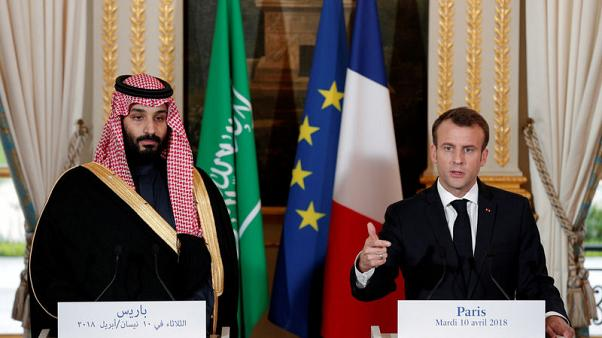 ماكرون يقول إنه سيجتمع بولي العهد السعودي على هامش قمة العشرين