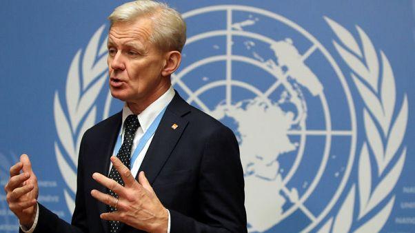 U.N.'s Egeland says Syria shows perils of targeting 'terrorists'