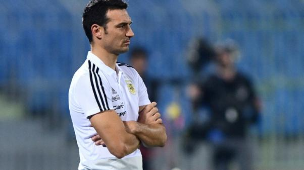Argentina ask coach Scaloni to stay for 2019 Copa America