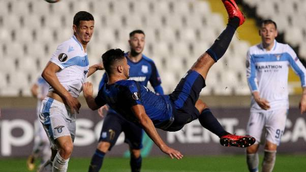 Europa League: Apollon-Lazio 2-0