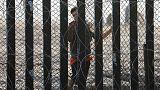Handful of caravan migrants launch hunger strike at U.S border