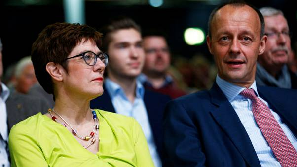 Merkel protege and old rival battle to lead Germany's ruling party