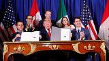 U.S., Canada, Mexico sign trade deal after last-minute brinkmanship