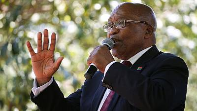 South Africa's Zuma wants arms deal corruption charges set aside