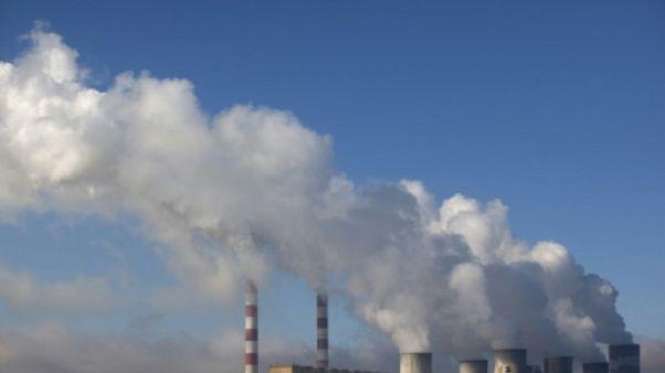 La centrale thermique de Belchatow, le 28 septembre 2011 en Pologne