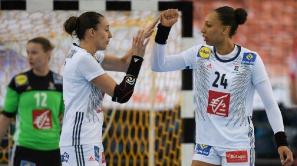 Euro de hand dames: par rapport au Mondial, une différence de taille chez les Bleues