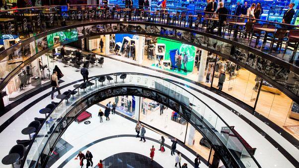ارتفاع مبيعات التجزئة الألمانية في أكتوبر بأقوى وتيرة في نحو عام ونصف