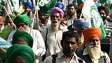 Inde: des agriculteurs convergent sur New Delhi pour manifester