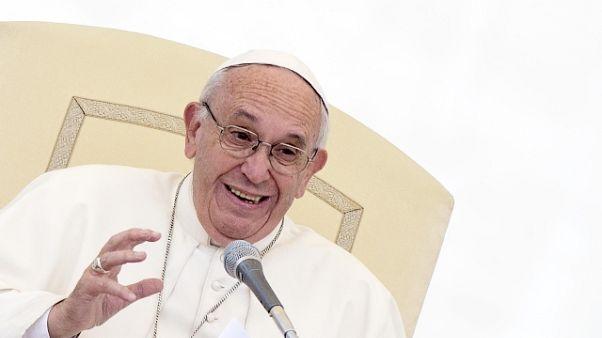 """Il """"grazie"""" del Papa ai volontari sardi"""