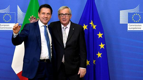 """We are not at war with Italy"", EU's Juncker says as he sees progress on budget"
