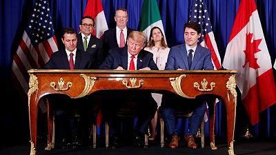 Canada, Mexico, U.S. sign new trade deal