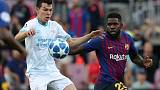 Barca defender Umtiti to undergo knee treatment