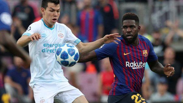 Barca defender Umtiti to undergo knee treatment
