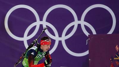 Four Russian biathletes charged with anti-doping rule violations