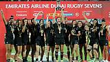 Rugby à VII: les Black Ferns enchaînent, les Bleues 7e à Dubaï