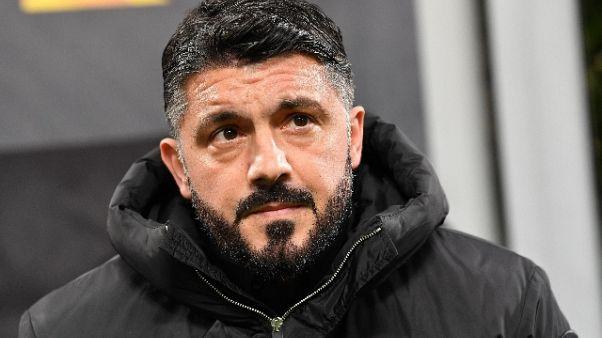 Ira Gattuso,assurdo col Parma alle 12.30