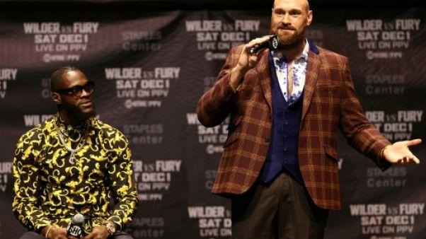 Boxe: les anciennes gloires voient Wilder battre Fury