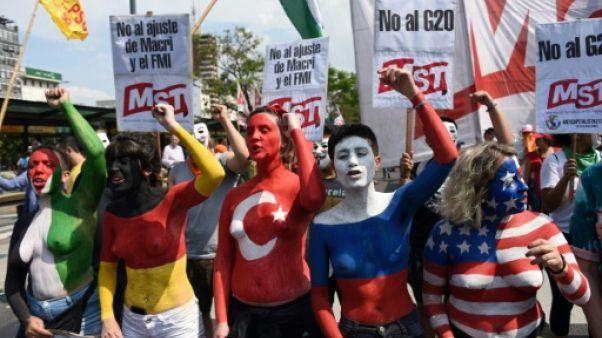 """""""Il n'y a pas d'argent, pourquoi organiser un G20?"""": les Argentins se mobilisent dans le calme"""