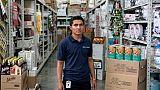 """Un travail au Mexique, un """"autre rêve"""" devient réalité pour certains migrants de la caravane"""