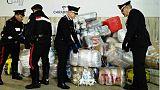 In gommone con 1.500 kg droga, arrestati