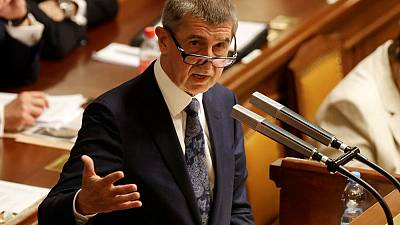 EU document says Czech PM in conflict of interest over Brussels funds
