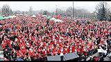 A Torino più grande raduno Babbi Natale