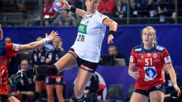 Euro dames de hand: la Norvège surprise d'entrée par l'Allemagne