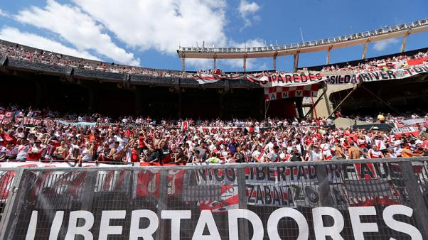 Soccer - River Plate reject Libertadores final in Madrid
