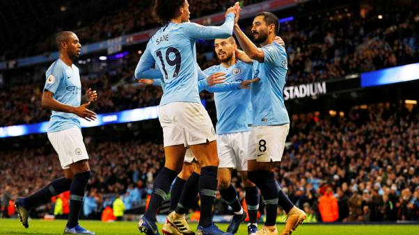 Relentless City go five clear with win over Bournemouth