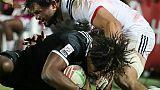 Rugby à VII: les Néo-Zélandais poursuivent leur carton plein, la France 10e