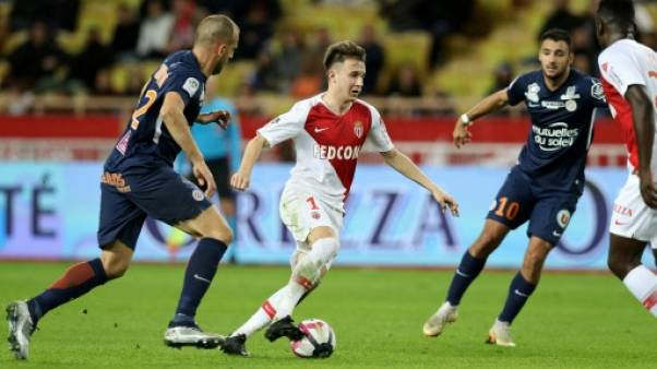 Ligue 1: Montpellier renverse Monaco et devient seul dauphin du Paris SG