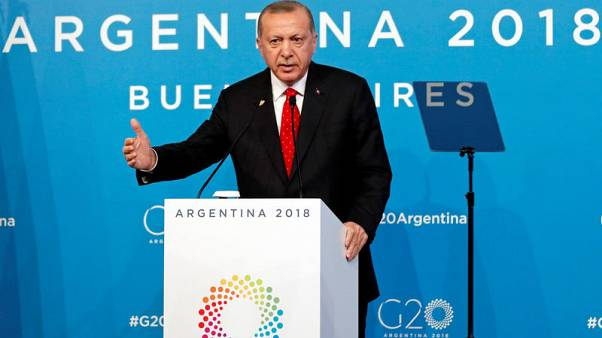 Turkey's Erdogan discussed Syria, lender Halkbank with U.S. President Trump