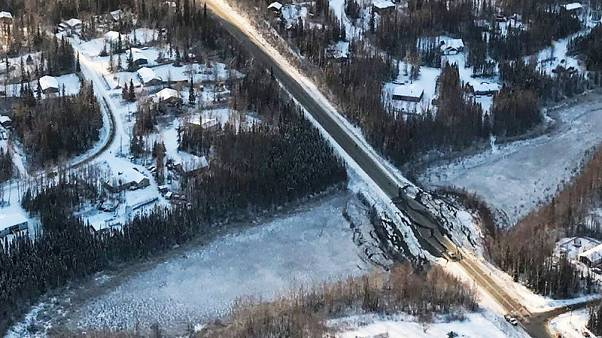 Aftershocks rattle cleanup efforts after powerful Alaskan earthquake