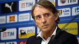 """Scritte-choc: Mancini """"Squallide"""""""
