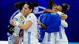 Hand dames: les Françaises réagissent en balayant la Slovénie (30-21)