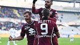 Serie A: il Torino batte 2-1 il Genoa