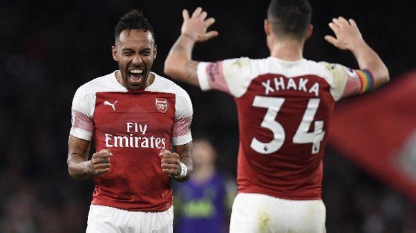 Premier: Arsenal batte Tottenham 4-2