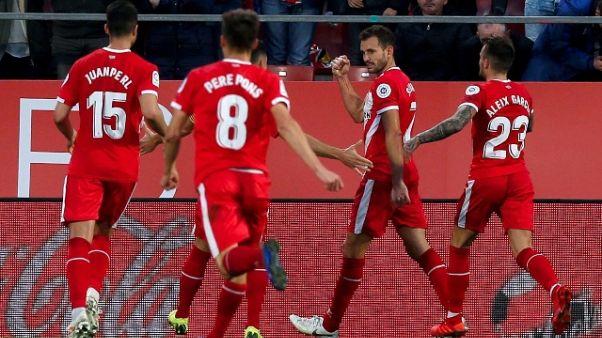 Atletico pareggia, ma rischia col Girona