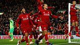 المنسي أوريجي ينتزع فوزا مثيرا لصالح ليفربول في قمة مرسيسايد
