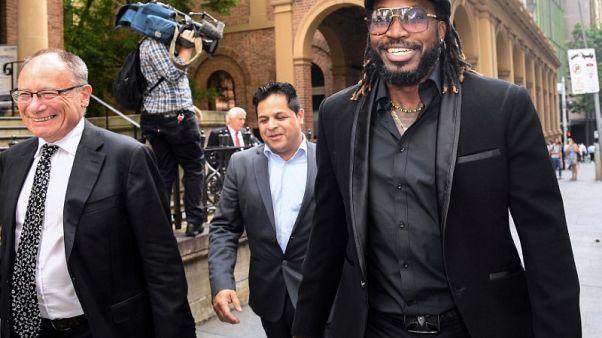 West Indies batsman Gayle awarded $220k in damages for defamation