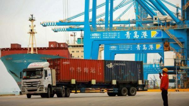 Le port de Qingdao (Chine) le 8 novembre 2018.