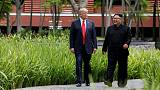 رئيس كوريا الجنوبية: ترامب يريد إيصال رسالة لكيم بأنه يحبه