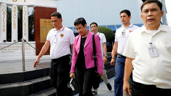 Philippine court grants bail to news site chief in tax evasion case
