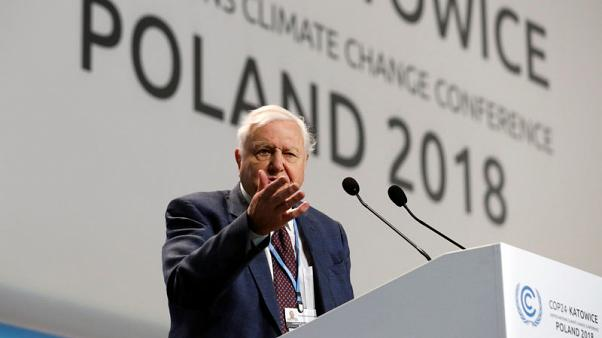 Naturalist Attenborough urges climate meet to tackle 'greatest threat in thousands of years'