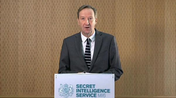 Britain's MI6 spymaster cautions Russia - Do not meddle in the West