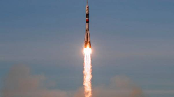 Russia launches first manned voyage to ISS since rocket accident