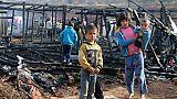 Liban: un incendie dans un camp de réfugiés syriens fait deux morts