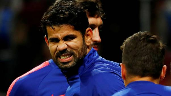 Atletico's Costa to undergo surgery in Brazil
